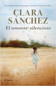el amante silencioso- Clara Sánchez