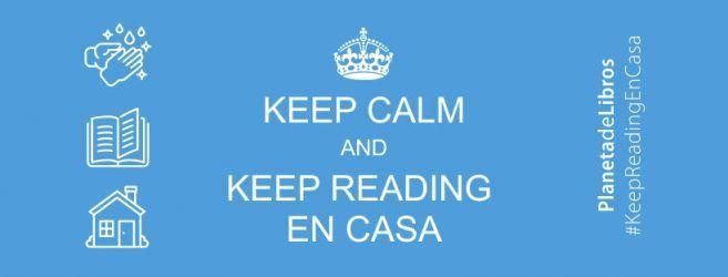 Iniciativa #KeepReadingEnCasa