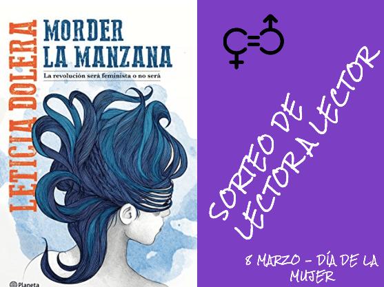 GANADOR SORTEO MORDER LA MANZANA (Leticia Dolera)