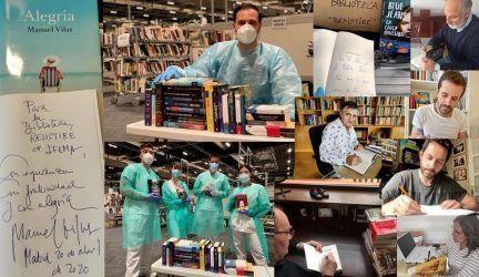 Donación de Editorial Planeta a Biblioteca RESISTIRÉ