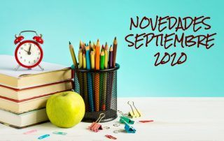 Novedades editoriales septiembre 2020