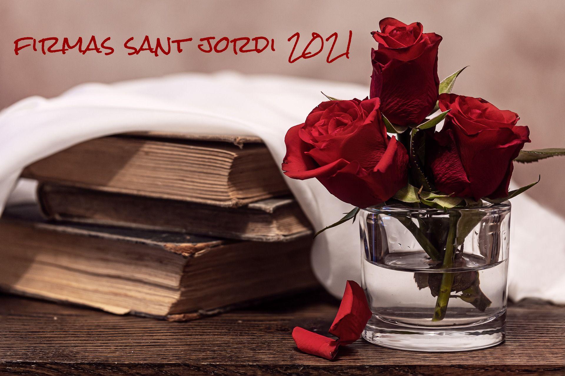 Firmas Sant Jordi 2021
